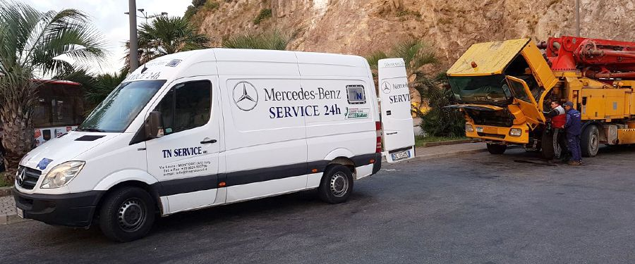 Officina mobile per assistenza veicoli