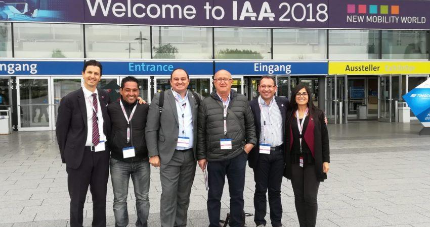 TN Service in visita all'IAA di Hannover