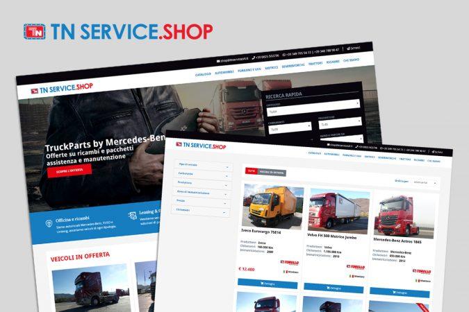 TN Service Shop – Il portale dedicato allo shop di TN Service è online
