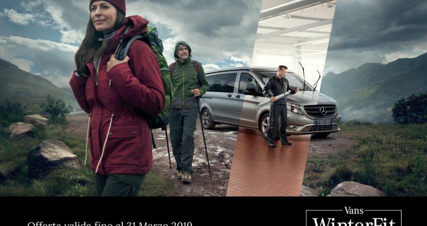 Da TN Service è iniziata la campagna WinterFit di Mercedes-Benz
