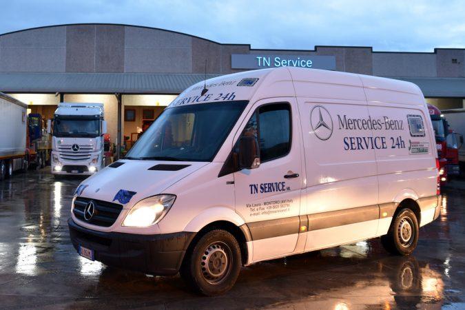 TN Service, sempre presenti: soccorso stradale anche a Natale e Capodanno