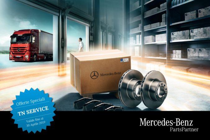 Riparte MB Parts Partner, ricambi in offerta fino al 30 aprile