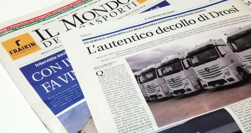 (Italiano) Al servizio del cliente, alleata dei trasporti. Il supporto di TN Service alle aziende