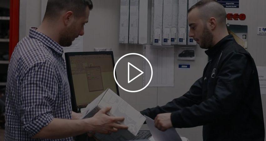 Vendita ricambi, accessori e pneumatici: un video spot spiega il servizio