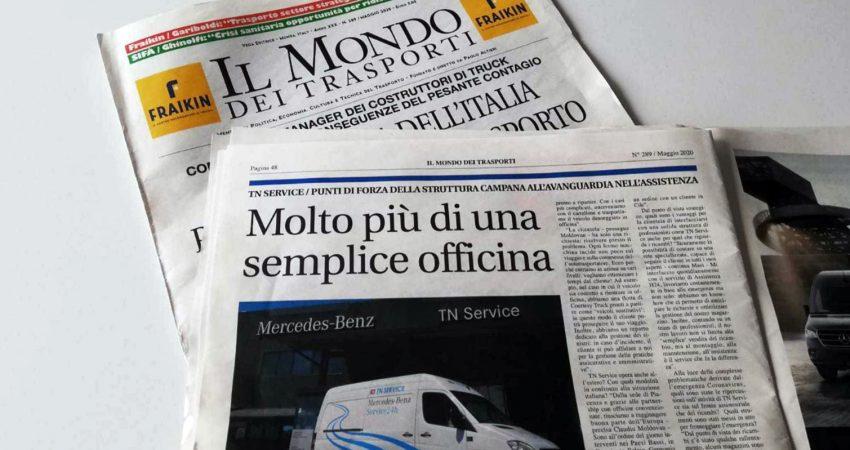 (Italiano) Il Mondo dei trasporti racconta i punti di forza di TN Service