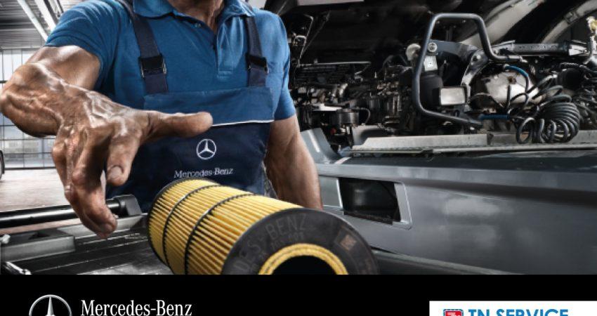 Componenti fondamentali: i filtri Mercedes-Benz in un catalogo dedicato