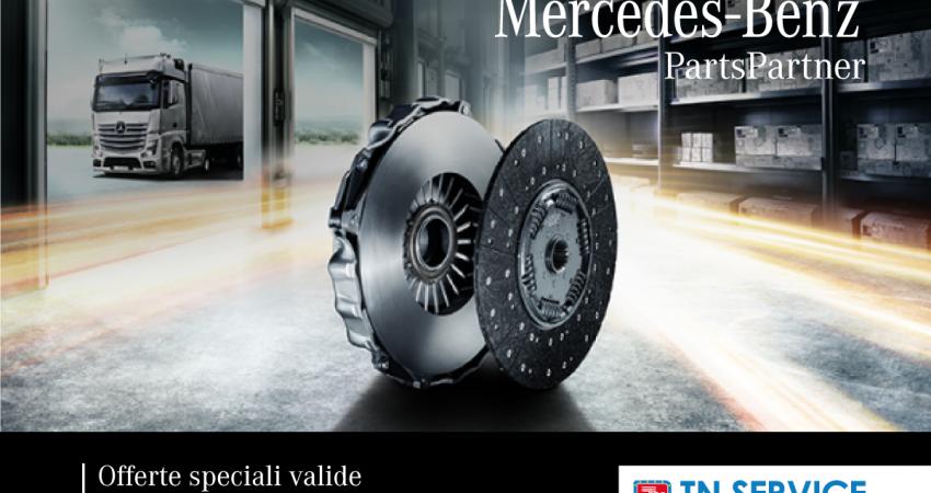 Al via il primo step 2021 di MB Parts Partner: offerte speciali fino al 30 aprile