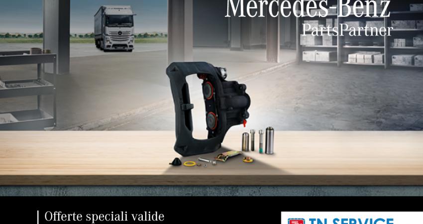 MB Parts Partner: ricambi in offerta fino al 31 Agosto!